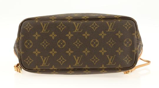 Louis Vuitton Lv Monogram Neverfull Pm Tote in Brown Image 4