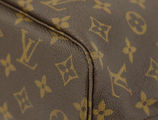Louis Vuitton Lv Monogram Neverfull Pm Tote in Brown Image 5