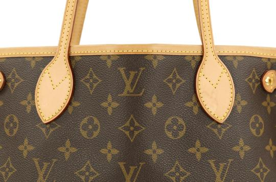 Louis Vuitton Lv Monogram Neverfull Pm Tote in Brown Image 6