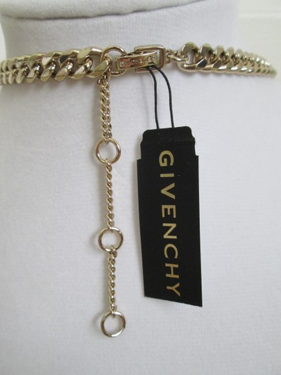 Givenchy Champagne Swarovski Crystal Cluster Drop Charm Statement Necklace Image 4