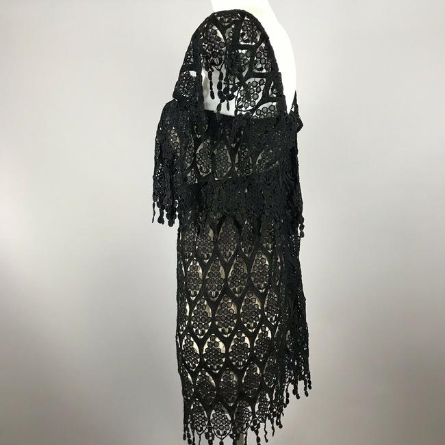 Stone Cold Fox short dress Black Lace Off Shoulder on Tradesy Image 4