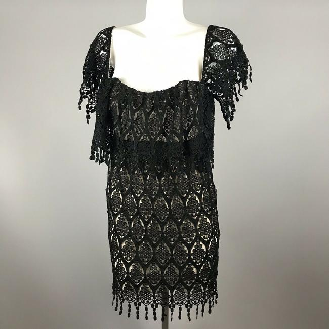 Stone Cold Fox short dress Black Lace Off Shoulder on Tradesy Image 5