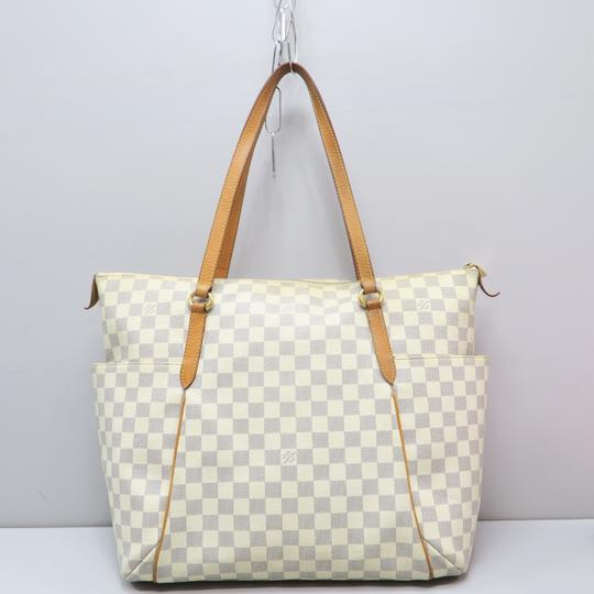 Louis Vuitton Lv Damier Azur Totally Gm Shoulder Bag Image 2