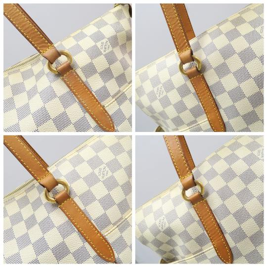 Louis Vuitton Lv Damier Azur Totally Gm Shoulder Bag Image 6