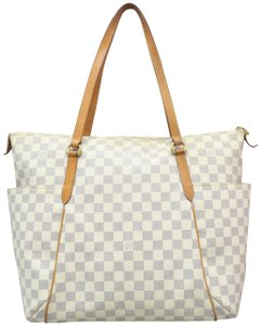 Louis Vuitton Lv Damier Azur Totally Gm Shoulder Bag - item med img