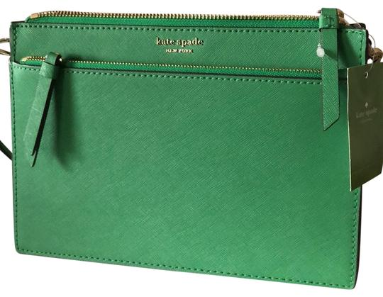 Preload https://item2.tradesy.com/images/kate-spade-cameron-green-leather-cross-body-bag-25433951-0-2.jpg?width=440&height=440