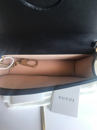 Gucci Marmont Double G Marmont Quilted Mini Chain Chain Shoulder Bag Image 10