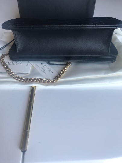 Gucci Marmont Double G Marmont Quilted Mini Chain Chain Shoulder Bag Image 8