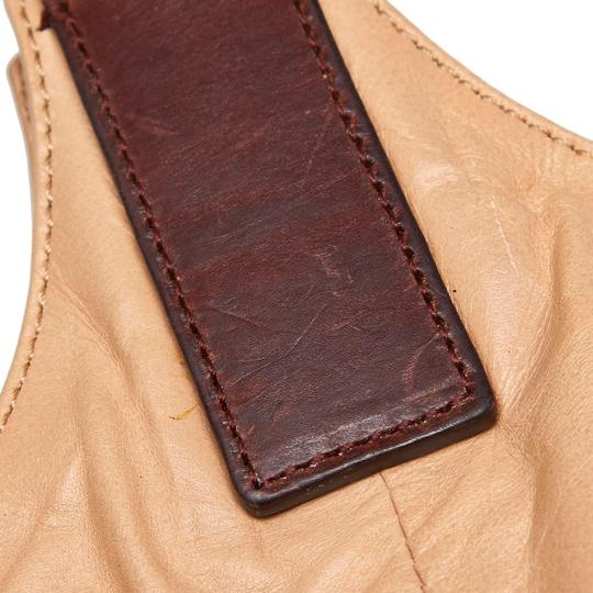 Céline 9eceto003 Vintage Leather Tote in Brown Image 8
