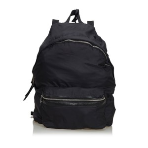 Saint Laurent 9eysbp001 Vintage Ysl Nylon Backpack