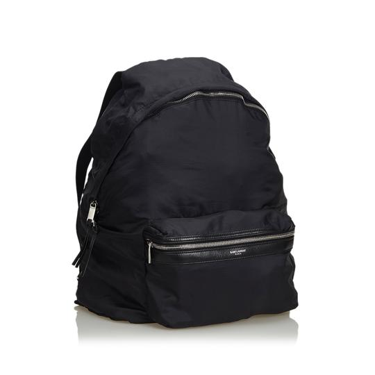 Saint Laurent 9eysbp001 Vintage Ysl Nylon Backpack Image 1