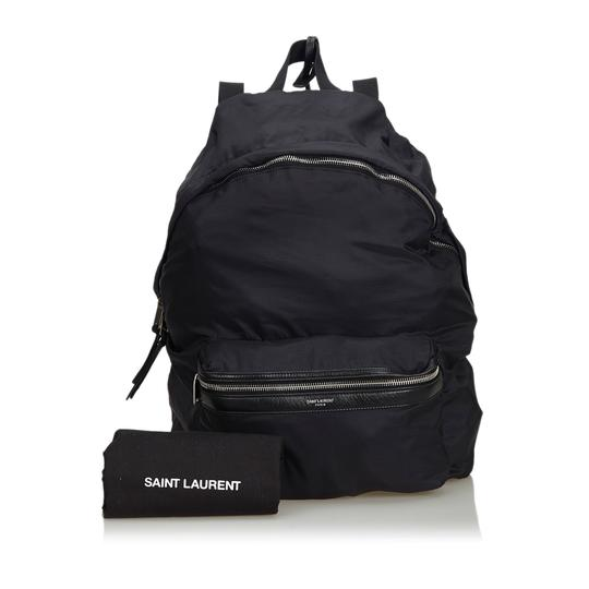 Saint Laurent 9eysbp001 Vintage Ysl Nylon Backpack Image 9