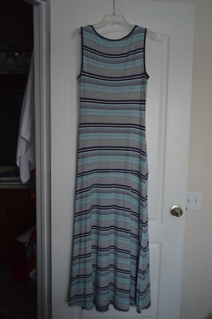 Multi-color Maxi Dress by Max Edition Image 1