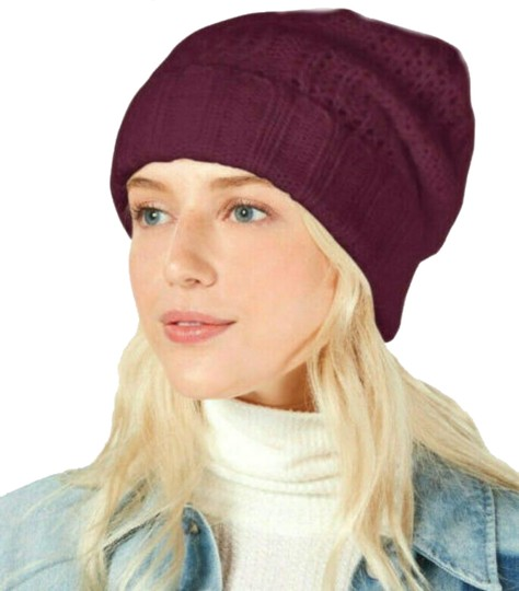 Preload https://img-static.tradesy.com/item/25434296/free-people-wine-knit-cap-hat-0-3-540-540.jpg