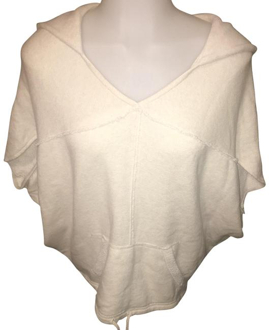 Preload https://img-static.tradesy.com/item/25434331/american-eagle-outfitters-off-white-poncho-sweatshirthoodie-size-4-s-0-1-650-650.jpg