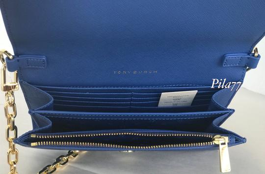 Tory Burch Crossbody Wallet Clutch Summer Tote in blue Image 7