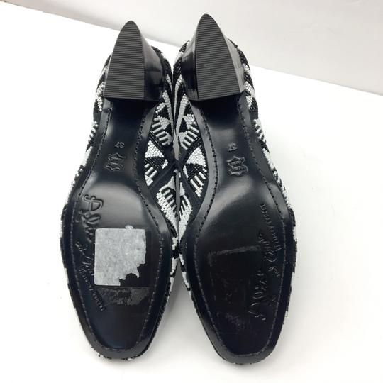 Alice + Olivia Black and White Boots Image 10