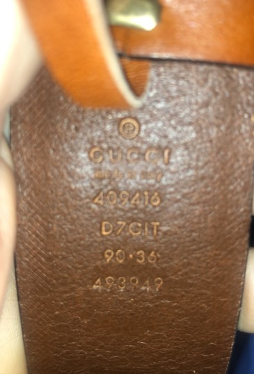 Gucci Gucci Double G Brown Palm Loved Belt Image 6