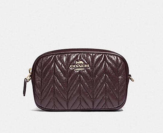 Coach COACH Fanny pack CONVERTIBLE BELT BAG WITH QUILTING F38678 Image 4