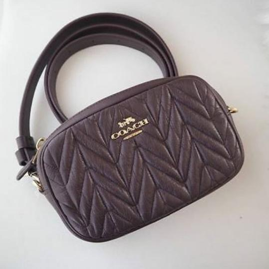 Coach COACH Fanny pack CONVERTIBLE BELT BAG WITH QUILTING F38678 Image 6