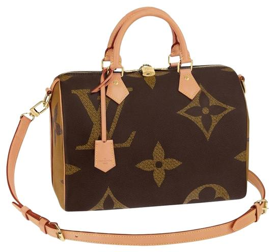 Preload https://img-static.tradesy.com/item/25434487/louis-vuitton-bandouliere-speedy-giant-30-brown-monogram-reverse-canvas-and-calfskin-leather-cross-b-0-1-540-540.jpg