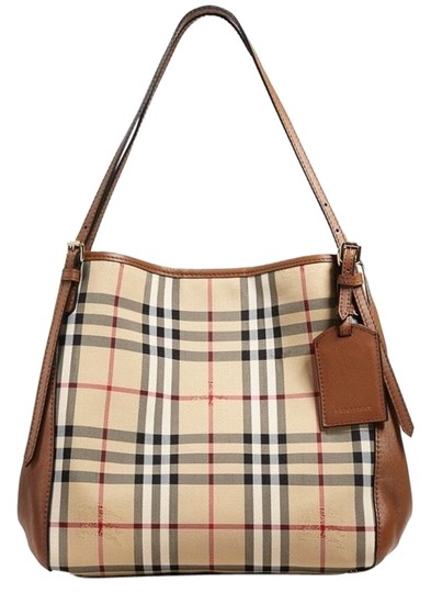 Preload https://img-static.tradesy.com/item/25434497/burberry-horseferry-check-panels-small-canterbury-multicolor-coated-canvas-and-leather-tote-0-2-540-540.jpg