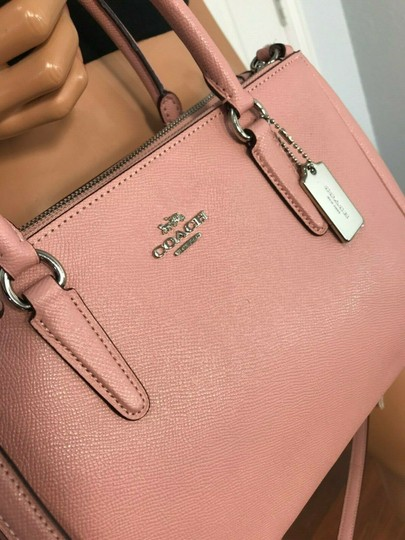 Coach Carryall 34797 36704 Christie Satchel in pink Image 1