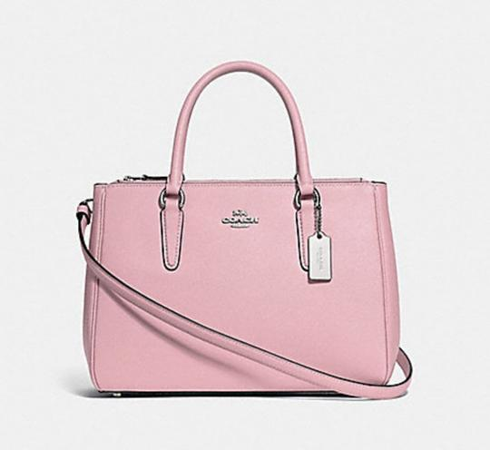 Coach Carryall 34797 36704 Christie Satchel in pink Image 10