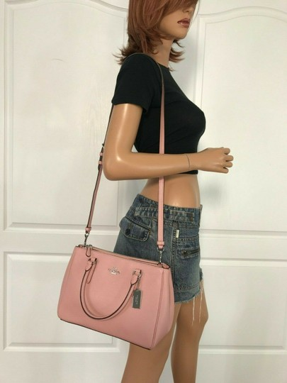 Coach Carryall 34797 36704 Christie Satchel in pink Image 2