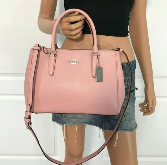 Coach Carryall 34797 36704 Christie Satchel in pink Image 3