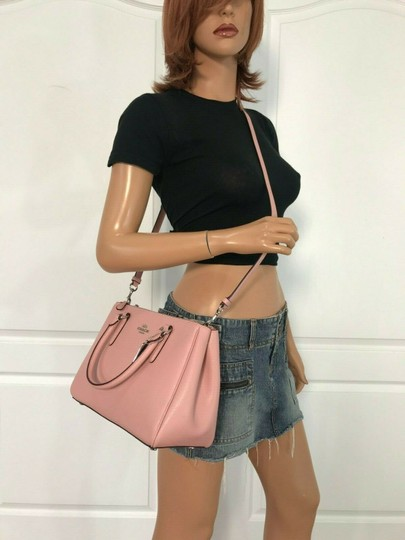 Coach Carryall 34797 36704 Christie Satchel in pink Image 4