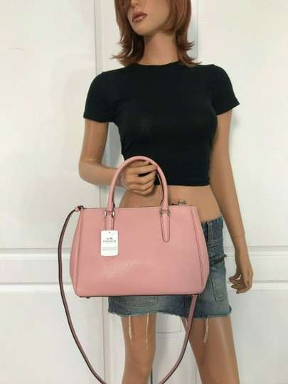 Coach Carryall 34797 36704 Christie Satchel in pink Image 5