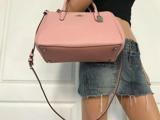 Coach Carryall 34797 36704 Christie Satchel in pink Image 6