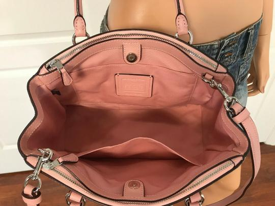 Coach Carryall 34797 36704 Christie Satchel in pink Image 7