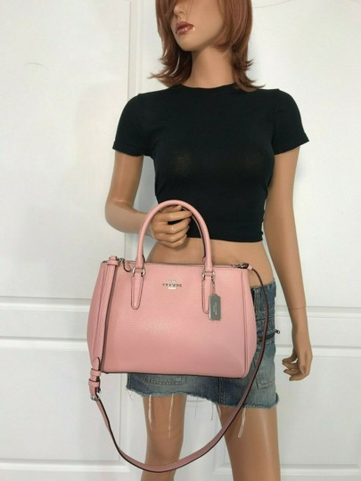 Coach Carryall 34797 36704 Christie Satchel in pink Image 8