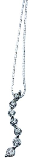 Preload https://img-static.tradesy.com/item/25434527/kay-jewelers-10k-diamond-journey-necklace-0-1-540-540.jpg