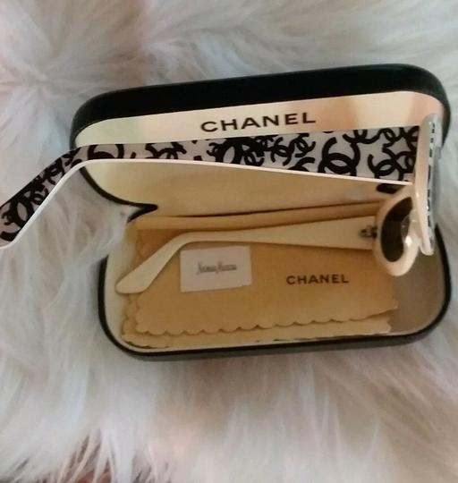 Chanel Chanel Graffiti Sunglasses with case! Image 3