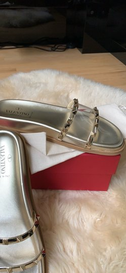 Valentino gold Sandals Image 1
