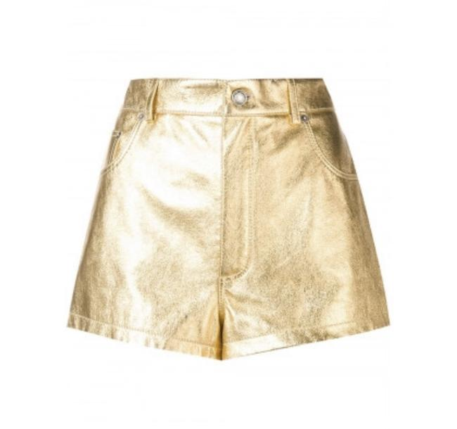 Preload https://img-static.tradesy.com/item/25434617/saint-laurent-gold-high-waisted-lame-leather-40-shorts-size-10-m-31-0-0-650-650.jpg