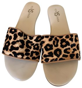 Yosi Samra animal print Sandals