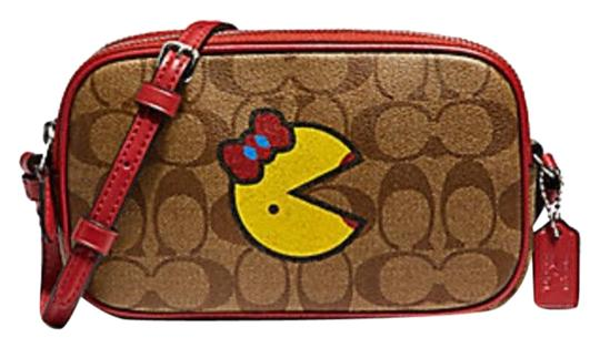 Preload https://img-static.tradesy.com/item/25434670/coach-pouch-in-signature-ms-pac-man-f73446-multicolors-leather-cross-body-bag-0-1-540-540.jpg
