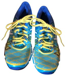 Asics blue, green, yellow Athletic