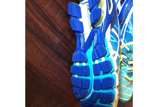 Asics blue, green, yellow Athletic Image 3