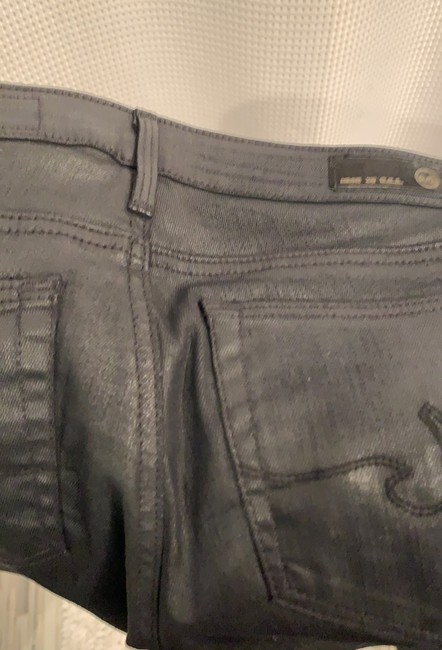 AG Skinny Jeans-Coated Image 7