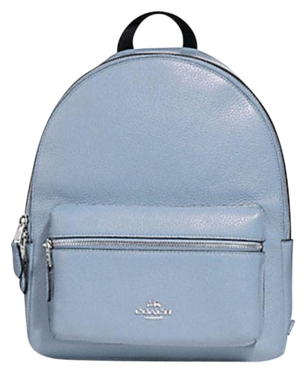 Preload https://img-static.tradesy.com/item/25434763/coach-charlie-medium-30550-rucksack-31372-blue-leather-backpack-0-1-540-540.jpg