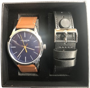 Coach Coach Men's Watch Baxter W1583 with interchangeable strap and Box