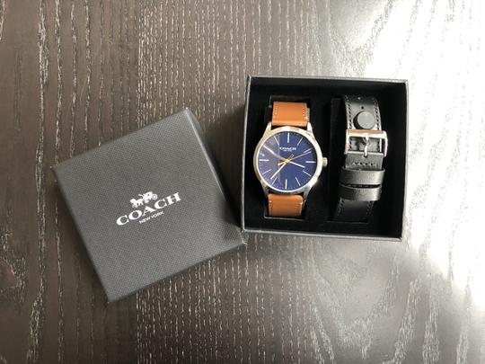 Coach Coach Men's Watch Baxter W1583 with interchangeable strap and Box Image 1