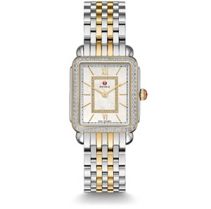 Michele Deco II Mid Stainless Mother of Pearl Diamond MWW06I000004