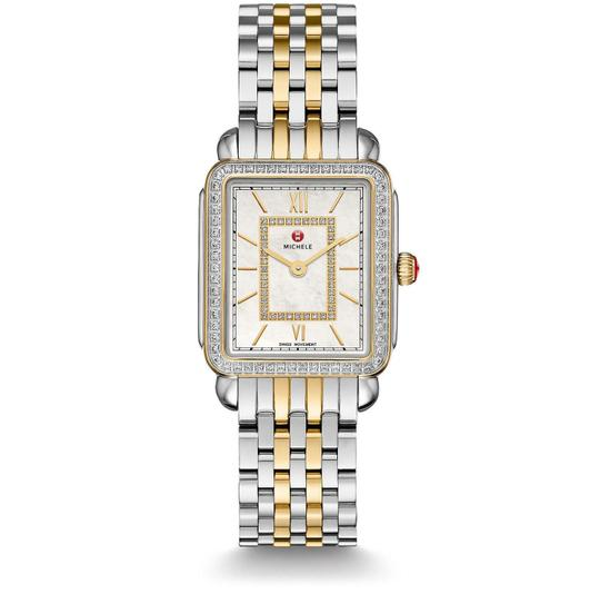 Preload https://img-static.tradesy.com/item/25434788/michele-two-tone-deco-ii-mid-stainless-mother-of-pearl-diamond-mww06i000004-watch-0-0-540-540.jpg