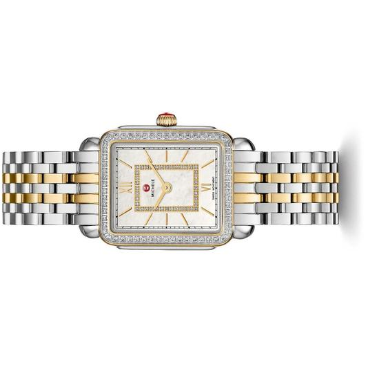 Michele Deco II Mid Stainless Mother of Pearl Diamond MWW06I000004 Image 1